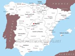 Catalonia Spain Map by Spain Political Map