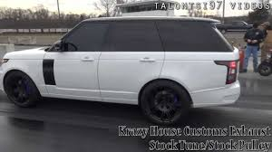customized range rover interior 12sec range rover supercharged krazyhousecustoms custom exhaust
