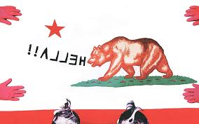California Flag Bear Sometimes State Flags Are Just So Vermont Metafilter