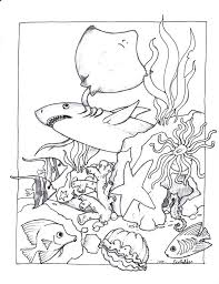 underwater dinosaurs coloring pages underwater coloring pages heartscollective co