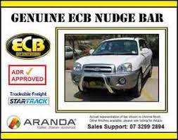 hyundai santa fe nudge bar ecb nudge bar for hyundai santa fe suv sm 2000 2006 nbhu45syp ebay
