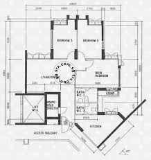 Schematic Floor Plan by Floor Plans For Anchorvale Road Hdb Details Srx Property