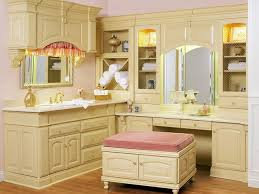 Bath Vanity With Makeup Table by Makeup Vanity Makeup Vanity Cabinets Frightening Images Ideas