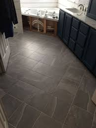 bathroom tile flooring ideas carpeted bathroom gets a new tile floor hometalk