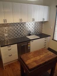 Tin Backsplash Kitchen Inspiring Pressed Tin Backsplash Ideas Add Charm In The Kitchen