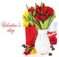 happy valentines day flowers background gallery yopriceville