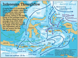 Ocean Currents Map Bird U0027s Head Seascape The Indonesian Throughflow Fifteen Thousand