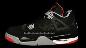 footlocker black friday sale jordan retro iv u201cbred u201d u2013 foot locker blog
