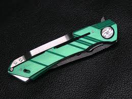 mina dew hara custom tactical folding knife custom knives