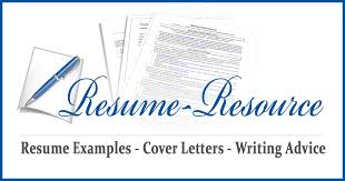 Resume Resources Examples by Resume Samples By Job Type