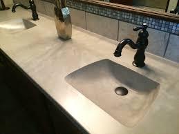 Cement Bathroom Sink - bathroom design magnificent cement vanity poured concrete