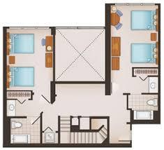 Treehouse Villas Floor Plan Saratoga Springs Resort