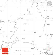 blank simple map of ajmer