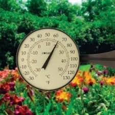 large outdoor thermometers foter