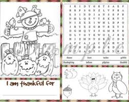 christmas coloring placemat printable instant download holiday
