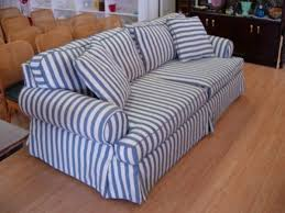 Striped Slipcovers For Sofas Blue Stripe Sofas Share On Facebook Share On Twitter Share On