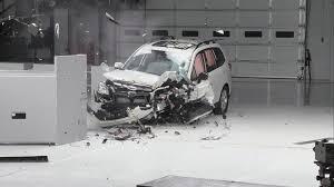 subaru white forester crash test 2014 subaru forester youtube