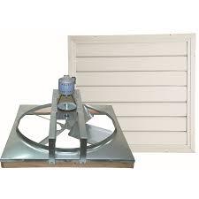 attic exhaust fan lowes shop cool attic 24 in steel single belt drive whole house fan at