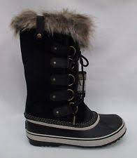s sorel joan of arctic boots size 9 sorel 1708791010 joan of arctic fur nm1 black 9 ebay