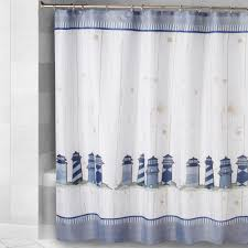 Lighthouse Curtains Bathroom by Lighthouse Print Shower Curtain Christmas Tree Shops Andthat