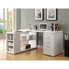 monarch white hollow core corner desk specialties regarding nice l shaped computer in on ultramodern