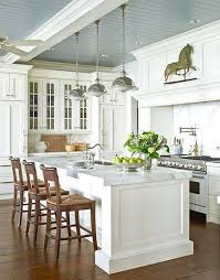 Blue And White Kitchen Farmhouse Style 30 Blue And White Kitchens To Inspire Hello Lovely