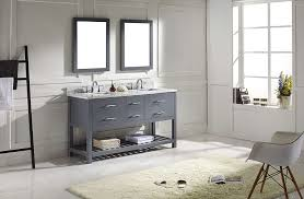 Bathroom Vanities 60 by Virtu Md 2260 Wmsq Gr Caroline Estate Double Bathroom Vanity
