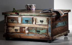 Wohnzimmertisch Kiste Couchtischtruhe Beistelltisch