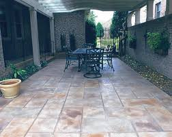 Flooring For Outdoor Patio Slate Patio Tiles Flooring On Outdoor Patio With Black Furniture