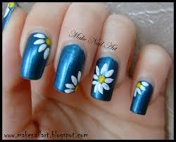 make nail art daisies nail art tutorial