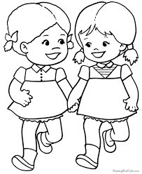 valentine coloring pages kid 001