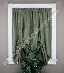 Tie Up Valance Kitchen Curtains Tie Up Valance Foter