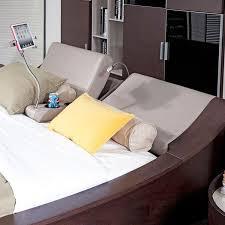 Platform Bed With Lights Geneva Platform Bed W Lights Cup Holders U0026 Ipad Holder Eastern