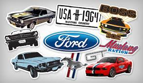 decals for ford mustang ford stickers stickeryou products