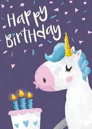 Disney Birthday Meme - happy birthday unicorn 9 printable cards set 50 off instant