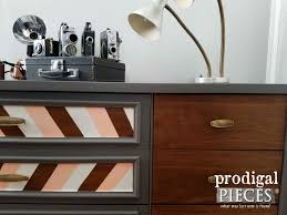 mid century modern dresser makeover prodigal pieces