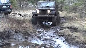 muddy jeep jeeps playing in the mud youtube