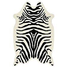 Zebra Print Throw Rug Zebra Print Rug Ebay