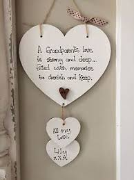 grandparent plaques personalised great grandparent gran nan plaque sign gift