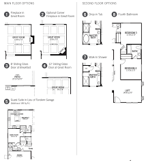 Mattamy Homes Floor Plans by Wingate 3508 Eastmark