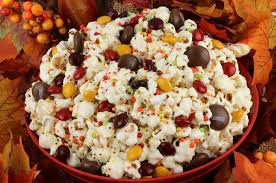 fall harvest popcorn two crafting