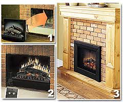 Electric Fireplace Insert Electric Fireplace Log Inserts Mantelsdirect Com