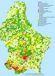 Map Of Luxembourg Land Use National Responses Luxembourg U2014 European Environment