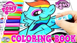 pony coloring book mlp rainbow dash colors episode