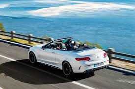 mercedes amg convertible 2018 mercedes amg c63 s cabriolet review bring in da noise bring