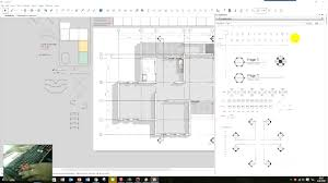 how to draw a 2d floor plan scale in sketchup from field