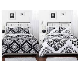 Rose Tree Symphony Comforter Set Black And White Damask Bedding U2013 Sweetest Slumber