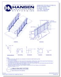 hansen architectural systems inc metals cad drawings