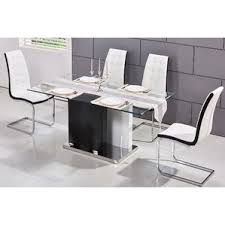 Modern Glass Dining Room Table Glass Modern U0026 Contemporary Kitchen U0026 Dining Tables You U0027ll Love