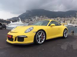 Porsche 911 Yellow - used 2014 porsche 911 gt3 991 for sale in monaco pistonheads